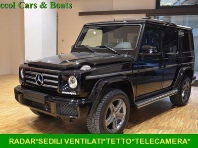 usata Mercedes G350 d S.W.*DISTRONIC*CIELO BLACK*SEDILI VENTILATI