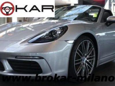 usado Porsche 718 Boxster 2.0 - 20 '' - CONNECT PLUST - meno 10MM - PDK