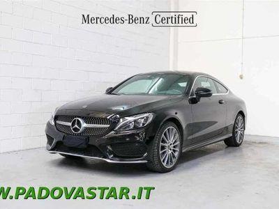 usata Mercedes 220 Classe C Coupéd Auto 4Matic Coupé Premium usato