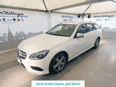 usata Mercedes 250 Classe E Station WagonBlueTEC 4Matic Automatic Executive del 2014 usata a Torino