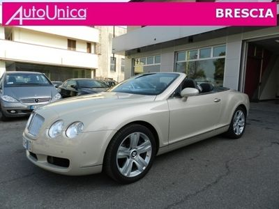 usata Bentley Continental Gtc Cabriolet Unipropietaria Ufficiale Italia Usato
