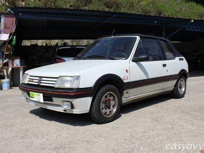 used Peugeot 205 cat cabriolet cti benzina