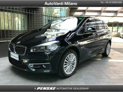 gebraucht BMW 216 Active Tourer d Luxury