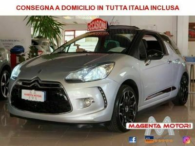 usata DS Automobiles DS3 Cabriolet eHDi 100 So Chic (Euro6)