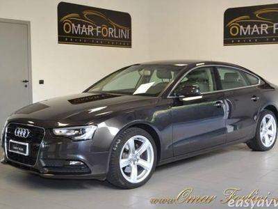 usata Audi A5 Sportback 2.0tdi mult.busin.navi xeno fullkm43.000 diesel 4/5-porte automatico grigio scuro