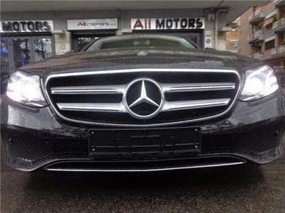 used Mercedes E220 SPORT AVANTGARDE PELLE NAVI BIXENON