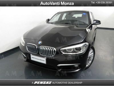 usata BMW 118 Serie 1 d 5p. Urban del 2019 usata a Monza