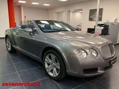 usata Bentley Continental GTC *ITALIANA* *TAGLIANDI UFFICIALI*
