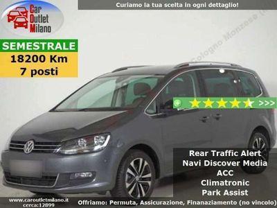 usata VW Sharan IQ Drive TDI 2019 2.0 D 150CV 6Man 5P Grigio