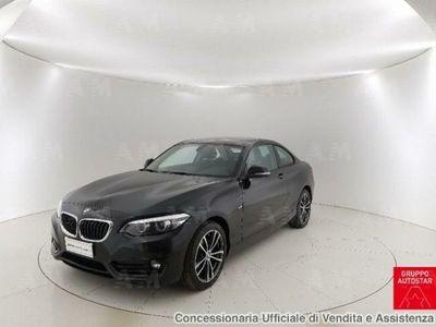 usata BMW 218 d Coupé Sport