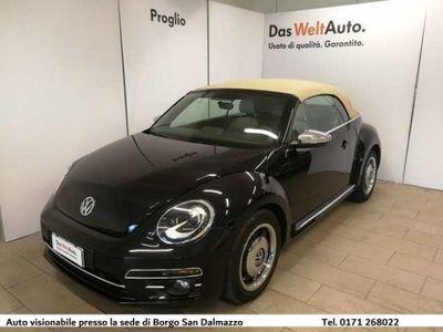 usata VW Maggiolino Cabrio 1.2 TSI Design BlueMotion Technology