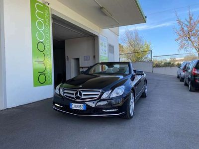 usata Mercedes E250 CDI Cabrio BlueEFFICIENCY UNIPROPRIETA 7G-TRONIC