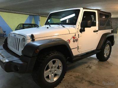 usata Jeep Wrangler 2.8 crd 200cv decapottabile - 2011
