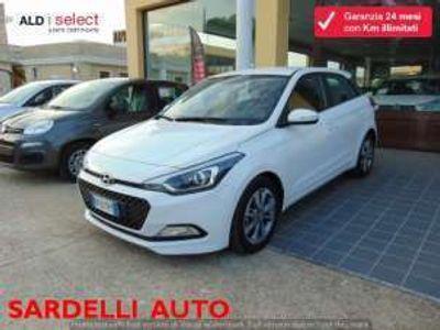 used Hyundai i20 1.2 84 cv 5 porte comfort benzina