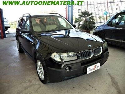 usata BMW X3 2.0d cat Futura usato