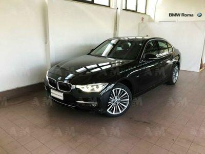 usata BMW 320 Serie 3 d Luxury del 2018 usata a Roma