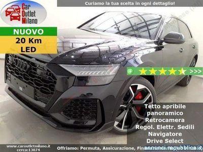 usata Audi RS Q8 TFSI Q. tipt. 4.0 B 600CV 8Aut 5P Nero Cologno Monzese