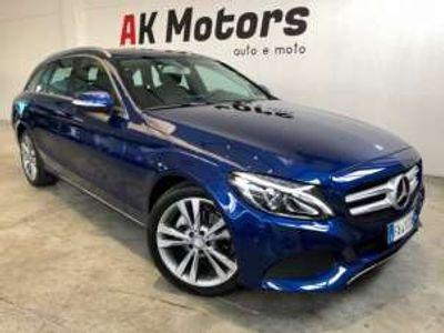 usata Mercedes C200 d s.w. auto sport diesel