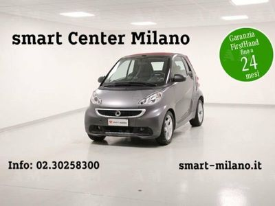 brugt Smart ForTwo Cabrio fortwo 1000 52 kW MHD cabrio pulse 1000 52 kW MHD pulse