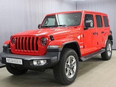 usata Jeep Wrangler Unlimited Unlimited Sahara Jl 2.0 L T-...