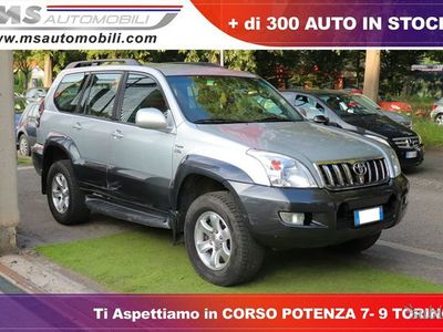 second-hand Toyota Land Cruiser 3.0 D-4D 16V cat 5 porte ...