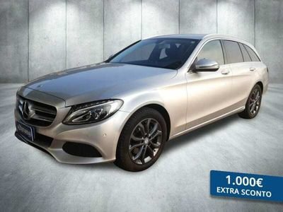 usata Mercedes 220 CLASSE C SW C SWd (BT) Exclusive auto