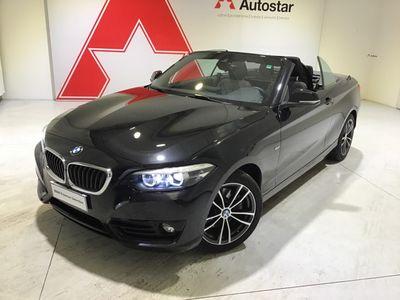 usata BMW 220 SERIE 2 CABRIO Serie 2 Cabrio(f23) d Cabrio Sport