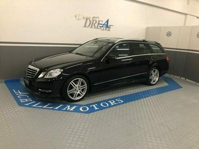 usata Mercedes E300 BlueTEC S.W. Hybrid Avantgarde AMG package autom.