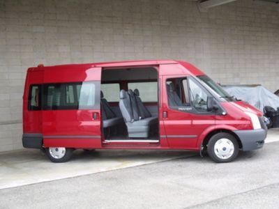 used Ford Transit Tourneo posti 9 pedana per disabili diesel