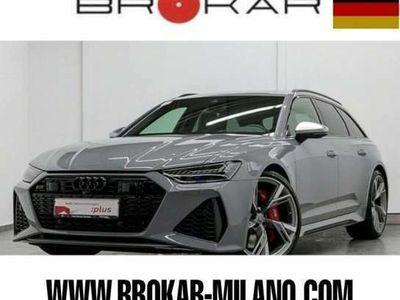 usata Audi RS6 Avant 4.0 TFSI V8 quattro tiptronic