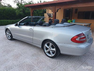 usata Mercedes CLK240 cabriolet GPL