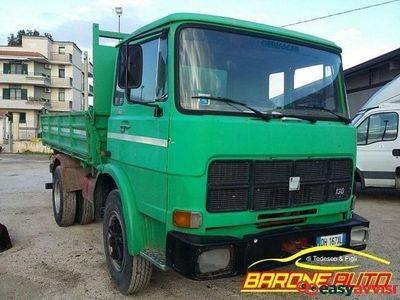 usata Fiat 130 nc con cassone ribaltabile trilaterale diesel