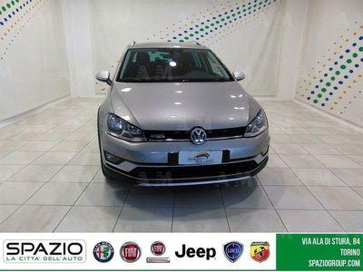 usata VW Golf Alltrack Variant 1.6 TDI 110CV 4MOT. Exec. 4 Free BMT del 2017 usata a Torino