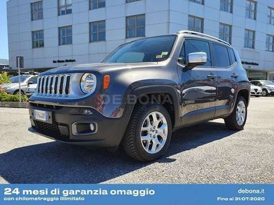 usata Jeep Renegade 2.0 Mjt 140CV 4WD Active Drive Limited
