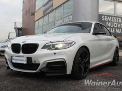 usata BMW M235 235M PERFORMANCE VOLANTE RACE Benzina