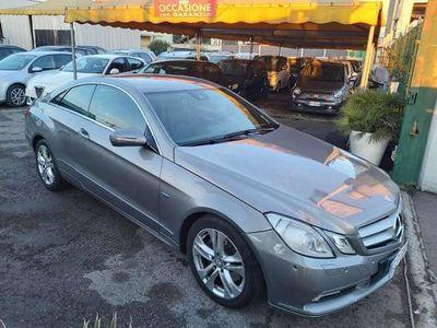 usata Mercedes E350 CGI Coupé BlueEFFICIENCY Avantgard