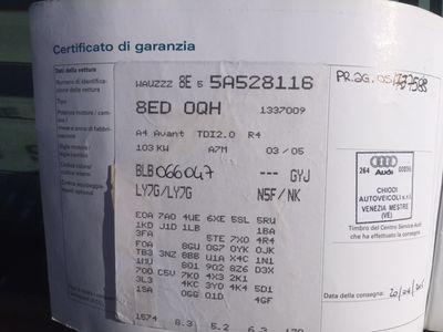 usata Audi A4 A42.0 16V TDI Avant Top