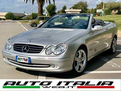 usata Mercedes CLK200 Kompr. TPS cat Cabrio Avantg.