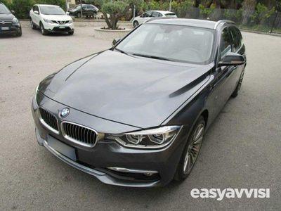 begagnad BMW 318 d Touring 150cv autom LUXURY NAVI PELLE TELECAMERA