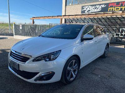 usata Peugeot 308 308sw 2.0 150cv tetto xeno bianco perla