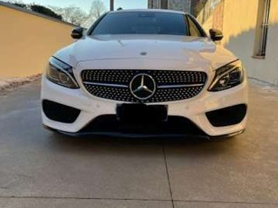usata Mercedes C220 d Coupe 4Matic 9G-TRONIC AMG Line