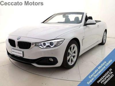 usata BMW 430 430 da cabrio sport