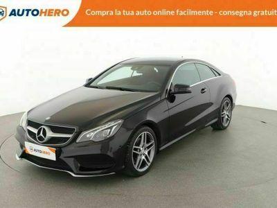 usata Mercedes E220 coupé premium - consegna a casa gratis