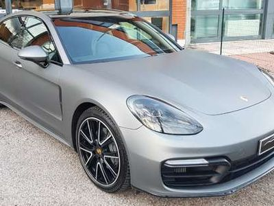 usata Porsche Panamera Turbo 4.0 4S Diesel Pacc. Pellicola Grigio Opaco