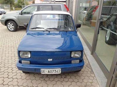usata Fiat 126 usata 1986
