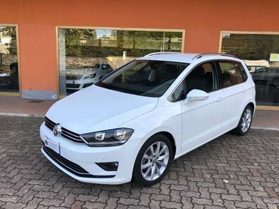 usata VW Golf Sportsvan 1.6 TDI 115CV DSG Executive Navy + APP