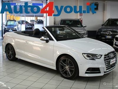 "usata Audi S3 Cabriolet 2.0 TFSI Quattro S-Tronic ""Km 249"