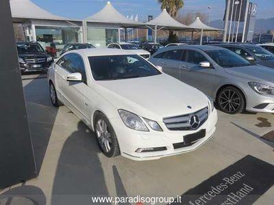 usata Mercedes E250 CLASSE E CoupéCDI Coupé BlueEFFICIENCY Avantgarde