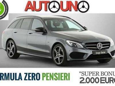usata Mercedes C350e ClasseSW Premium AMG Hybrid Plug-in + PANORAMA