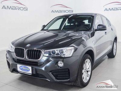 brugt BMW X4 xDrive20d xLine